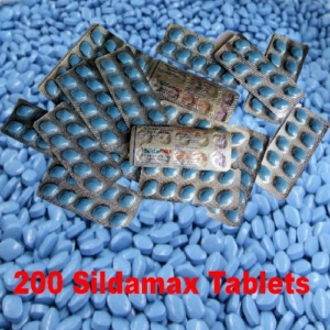200 sildamax tablets